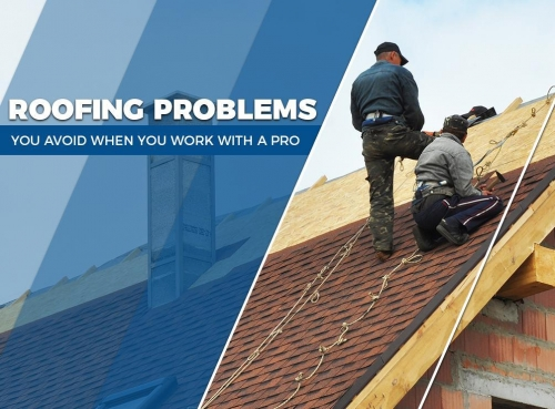 Roofing Problems You Avoid When You Work With a Pro